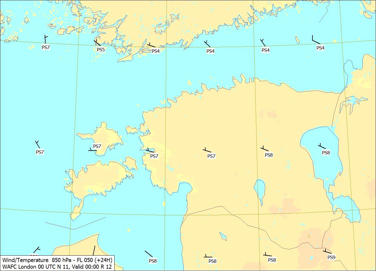 Eesti prognooskaart