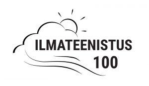 Ilmateenistus 100 juubelilogo